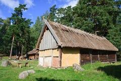 Vikings village Stock Photography