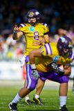 Vikings vs. Broncos Royalty Free Stock Photo