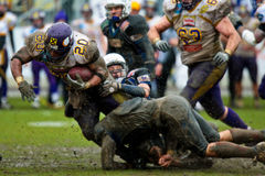 Vikings vs Devils Royalty Free Stock Images