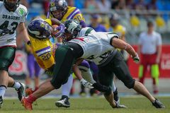 Vikings vs. Dragons Royalty Free Stock Photo