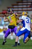 Vikings vs. Giants Stock Photography