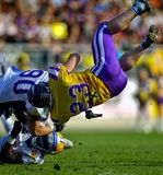 Vikings vs. Giants Royalty Free Stock Photography