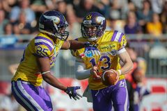 Vikings vs. Panthers Stock Photo