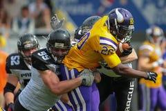 Vikings vs. Panthers Stock Image