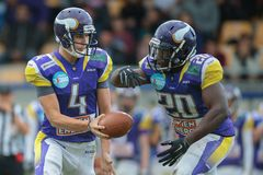Vikings vs. Panthers Royalty Free Stock Photography