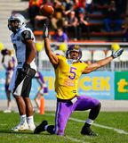 Vikings vs. Raiders Royalty Free Stock Photography