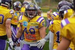 Vikings vs. Raiders Stock Photography