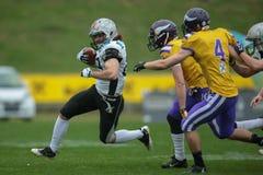 Vikings vs. Raiders Royalty Free Stock Photography