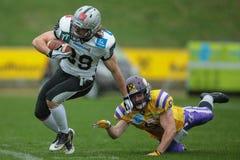 Vikings vs. Raiders Royalty Free Stock Photos