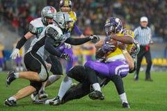 Vikings vs. Raiders Stock Images