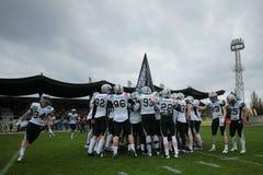 Vikings vs. Raiders Stock Image