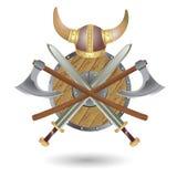 Vikings Waffe Lizenzfreie Abbildung