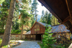 Vikingsholm, le lac Tahoe Photo libre de droits