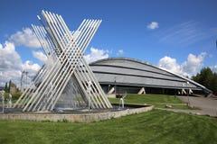 Vikingskipet w Hamar zdjęcie stock