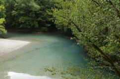 Vikos-Fluss Lizenzfreie Stockfotografie