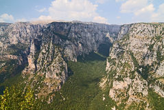 Vikos Gorge Royalty Free Stock Images
