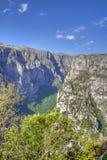 Vikos Gorge. In the Zagoria region of Greece royalty free stock photography