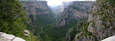 Vikos Gorge Royalty Free Stock Photos