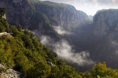 Vikos gorge Stock Images