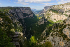 Vikos gorge Stock Images