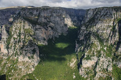 Vikos gorge Royalty Free Stock Image
