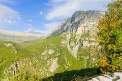 Vikos gorge Royalty Free Stock Photography
