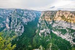 Vikos Gorge. Zagoria, Greece Royalty Free Stock Photo