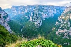 Vikos Gorge. Zagoria, Greece Royalty Free Stock Photos