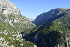 Vikos Schlucht Stockfotos