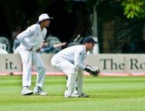 Vikram Solanki & Steven Davies immagine stock