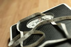 vikt för 5 scale Royaltyfri Fotografi