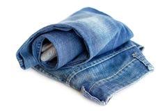 Vikt jeans Royaltyfri Foto