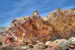 Vikt kalksten på Kreta Royaltyfri Bild