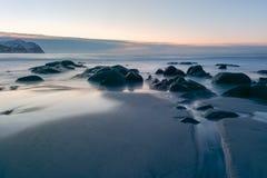 Vikten Beach - Lofoten Beach, Norway Stock Photos