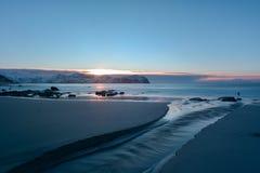 Vikten Beach - Lofoten Beach, Norway Royalty Free Stock Image