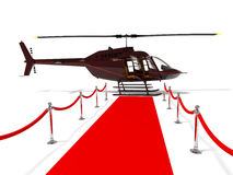 viktig person för helikopter mycket Royaltyfri Fotografi