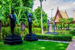 Viktigt folk i Suphan Buri, Thailand Fotografering för Bildbyråer