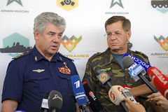 Viktor Bondarev i Aleksander Zhilkin Obraz Stock