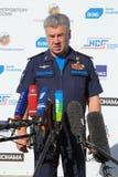 Viktor Bondarev. ZHUKOVSKY, MOSCOW REGION, RUSSIA - AUG 25, 2015: Viktor Nikolaevich Bondarev - Colonel General, Commander-in-Chief of the Russian Air Force at Stock Photo