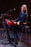 Viktor Drobysh führt am Klavier auf Stadium während des Jahr-Geburtstagskonzerts Viktor Drobyshs 50. bei Barclay Center durch Lizenzfreies Stockbild