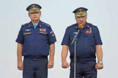 Viktor Gumenny i Viktor Bondarev Zdjęcie Royalty Free