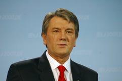 Viktor Juschtschenko arkivfoton