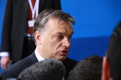 Viktor Orban Royalty Free Stock Photography