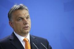 Viktor Orban royalty-vrije stock afbeeldingen