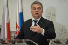 Viktor Orban Arkivfoton