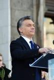 Viktor Orban der ungarische Premierminister Stockfotografie