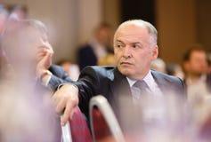 Viktor Pinchuk przy Światowym Ekonomicznym forum w Davos Fotografia Stock