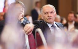 Viktor Pinchuk przy Światowym Ekonomicznym forum w Davos Fotografia Royalty Free