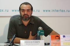Viktor Shenderovich immagine stock