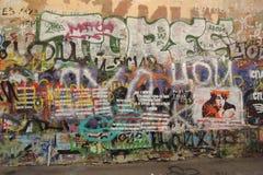 Viktor Tsoi Wall Immagini Stock